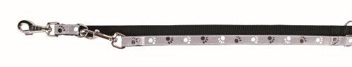 Trixie 12214 Silver Reflect V-Leine, XS-S: 2,00 m/15 mm