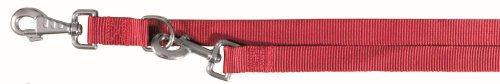 Trixie Classic V-Leine, XS–S: 2,00 m/15 mm, rot