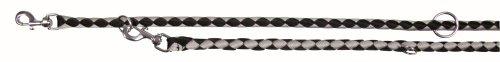 Trixie 14351 Cavo V-Leine, S-M: 2.00 m/ø 12 mm, schwarz / silber