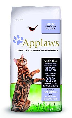 Applaws Katze Huhn & Ente, Trockenfutter, 1er Pack (1 x 2 kg)
