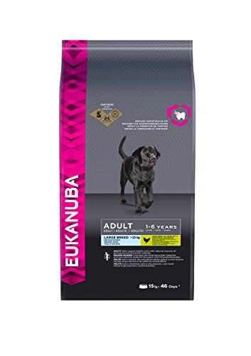 Eukanuba Premium Hundefutter für große Hunde, Trockenfutter mit Huhn (1 x 15 kg)