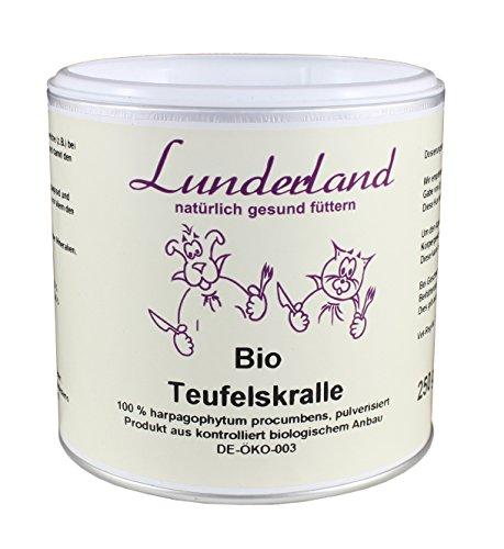 Lunderland – Bio Teufelskralle, 250 g, 1er Pack (1 x 250 g)