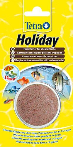 TetraMin Holiday Ferienfutter (Gelfutterblock Fischfutter für eine ausgewogene Ernährung aller Zierfische über einen längeren Zeitraum der Abwesenheit bis zu 14 Tagen), 30 g