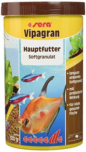 sera 00203 vipagran 1000 ml – das Hauptfutter aus langsam sinkendem Softgranulat