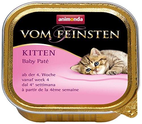 Animonda Vom Feinsten Baby – Paté 32 x 100 g für Katzen, 1-er Pack (1 x 3.2 kg)