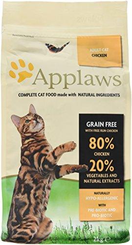 Applaws Katzentrockenfutter mit Hühnchen, 1er Pack (1 x 2 kg Packung)
