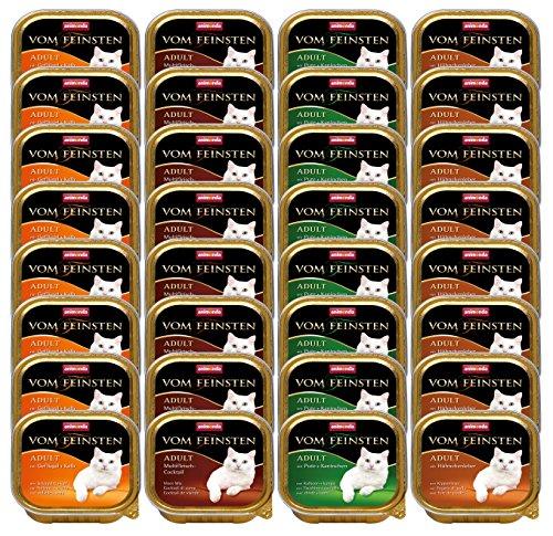 Animonda vom Feinsten 83254 Mix1 Geflügel-Kreationen 32 x 100 g – Katzenfutter