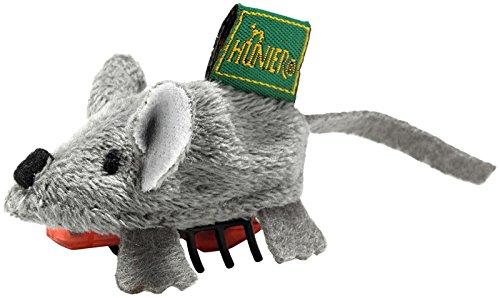 Katzenspielzeug Running Maus, 5 cm, mit Batterie, grau