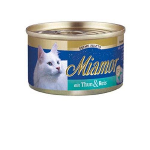 Miamor | Feine Filets mit Thun & Reis | 24 x 100 g