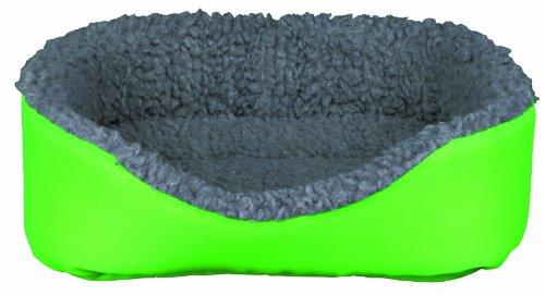 Trixie 62703 Kleintierkuschelbett, 35 × 28 cm, grün/grau