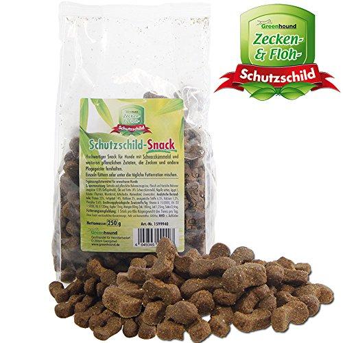 Schutzschild-Snack – gegen Zecken und andere Plagegeister mit Schwarzkümmelöl und weiteren pflanzlichen Zutaten für Hunde Ungezieferbekämfung