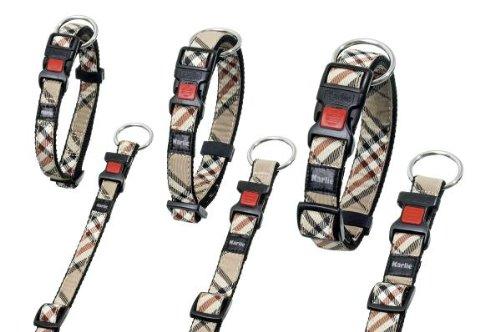 Karlie Flamingo 68264 Artjoy Plus – Halsband Englisch Style – 20 mm 40-55 cm