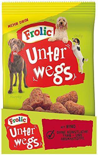 Frolic Unterwegs Hundesnacks Rind, 12 Packungen (12 x 200 g)