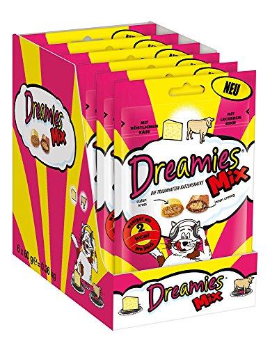 Dreamies Mix mit Käse & Rind 60g