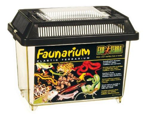 Exo Terra Faunarium mini – Allzweckbehälter für Reptilien, Amphibien, Mäuse und Insekten