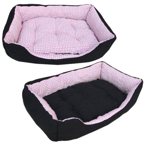 Tierbett Hundebett Katzenbett Tierkissen Slim S Pink