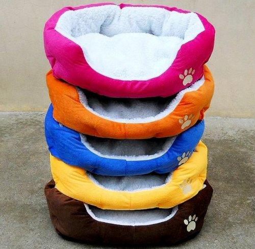 E-Goal Baumwoll-Bett für Hunde, Katzen und Kleintiere