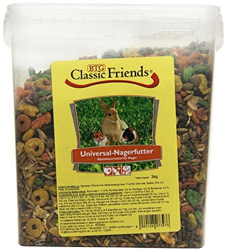 Classic Friends Universal Nagerfutter Eimer, 1er Pack (1 x 3 kg)