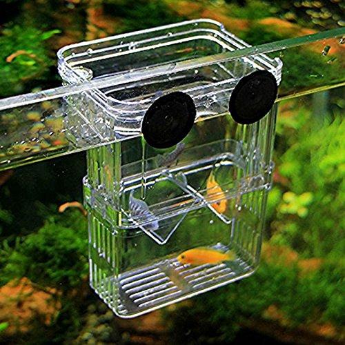 ETGtek(TM) 1pcs Multifunktions Fisch-Kasten Zucht Isolation Hängen Aquarium Incubator Aquarium Zubehör