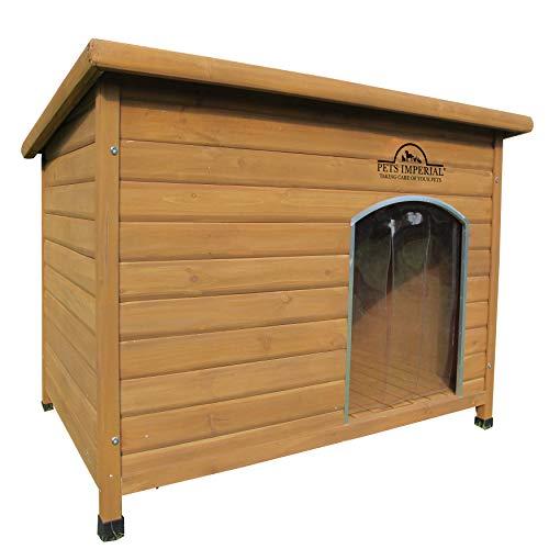 Pets Imperial® Haustiere Imperial® Extra Large Isoliert Holz Norfolk Hundehütte Mit Abnehmbarem Boden Für Einfache Reinigung