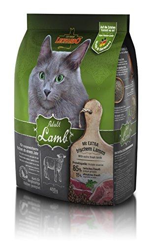 Leonardo Adult Lamb [400g] Katzenfutter | Trockenfutter für Katzen | Alleinfuttermittel für ausgewachsene Katzen Aller Rassen ab 1 Jahr