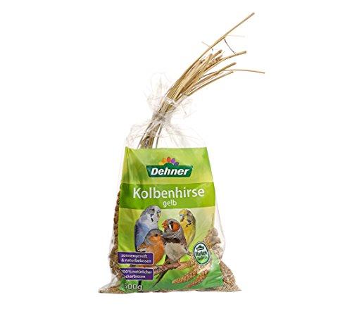 Dehner Vogelfutter, Kolbenhirse, 1er Pack (1 x 500 g)