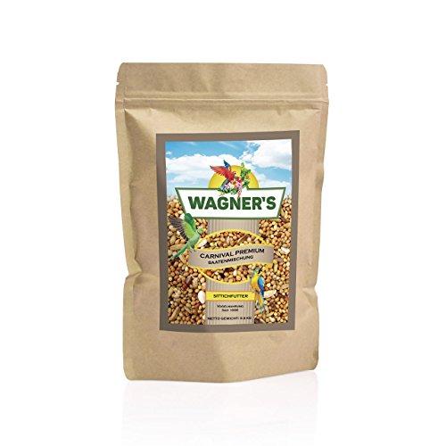Wagner's Sittichfutter Carnival Premium – 500 g Saaten Futter Mischung für Sittiche