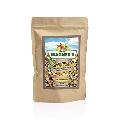 Wagner's ® | Mix – Papageienfutter für Amazonen – 2,5 kg Saaten & Obst
