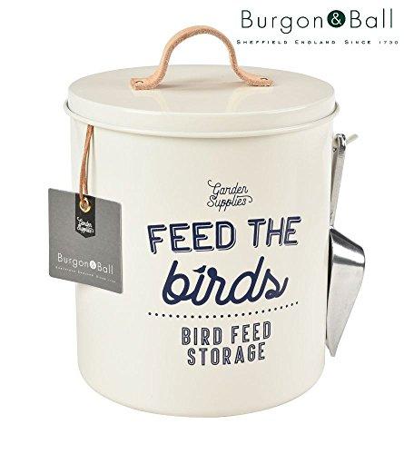 Burgon and Ball neuer Feed the Birds – Vogelfutter-Behälter aus Emaille