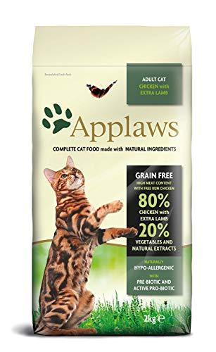 Applaws Katze Trockenfutter Huhn mit Lamm, 1er Pack (1 x 2 kg)
