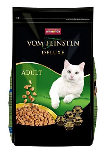 animonda Vom Feinsten Deluxe Adult Katzenfutter, Trockenfutter für erwachsene Katzen, aus Geflügel, 1,75 kg