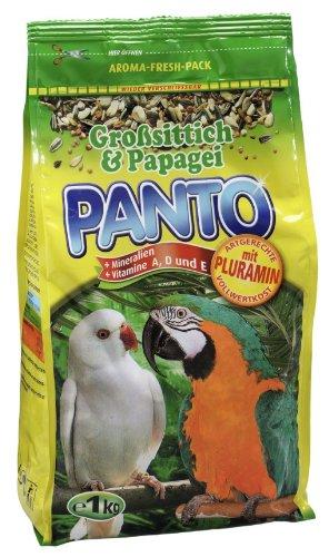 Panto Großsittich/Papageienfutter, 5er Pack (5 x 1 kg)