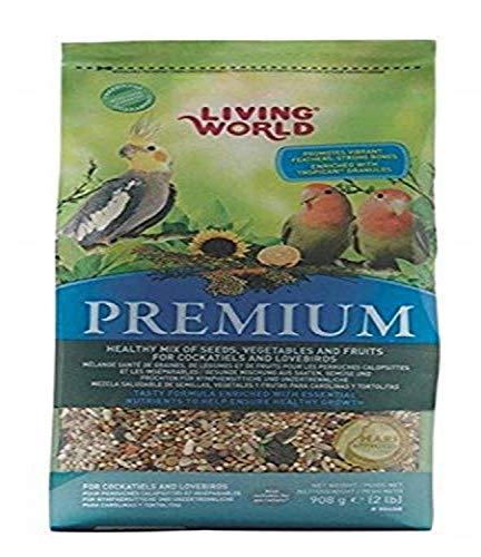 LIVING WORLD Premium Nymphensittich-Mix, ca. 2 kg
