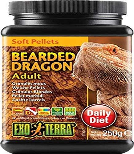 Exo Terra Soft Pellets Futter für erwachsene Bartagamen 250g