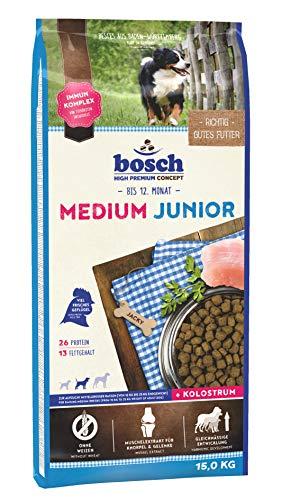 bosch HPC Medium Junior | Hundetrockenfutter zur Aufzucht mittelgroßer Rassen, 1 x 15 kg