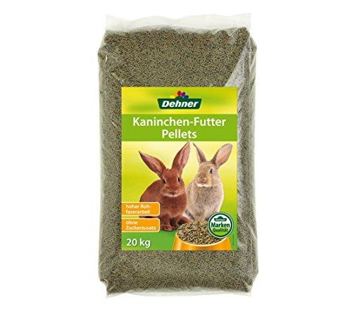 Dehner Kaninchenfutter Pellets, 20 kg