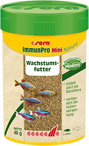 sera ImmunPro Mini (für Fische bis 4 cm) das Züchterfutter mit Probiotika für schnelles Wachstum, eine kräftige Entwicklung und eine brillante Farbausprägung