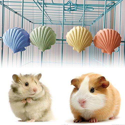 ECMQS Mineralstein Calcium Schale Gestalten Kauen Spielzeug Zähne Grinder Für Hamster Ratte Chinchilla Rabbit