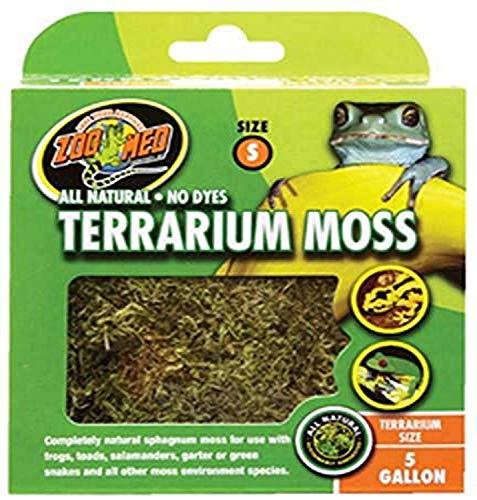 Zoo Med CF2-SE Terrarium Moss, S natürliches Moos für Terrarien