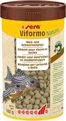 sera 00550 viformo Tabletten 250 ml – Tablettenfutter für gründelnde Welse und Schmerlen